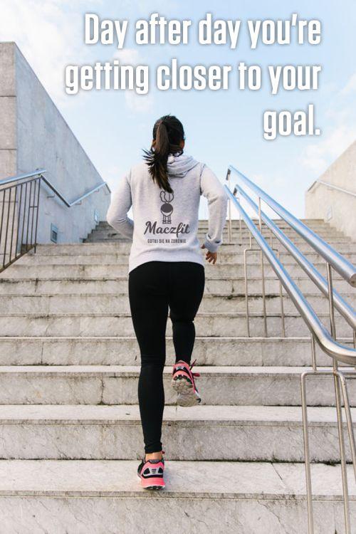 Codziennie bliżej celu :) #goal #motivation #cytat #sport #active #behard #cel #motywacja #sylwetka #forma #bieganie #running