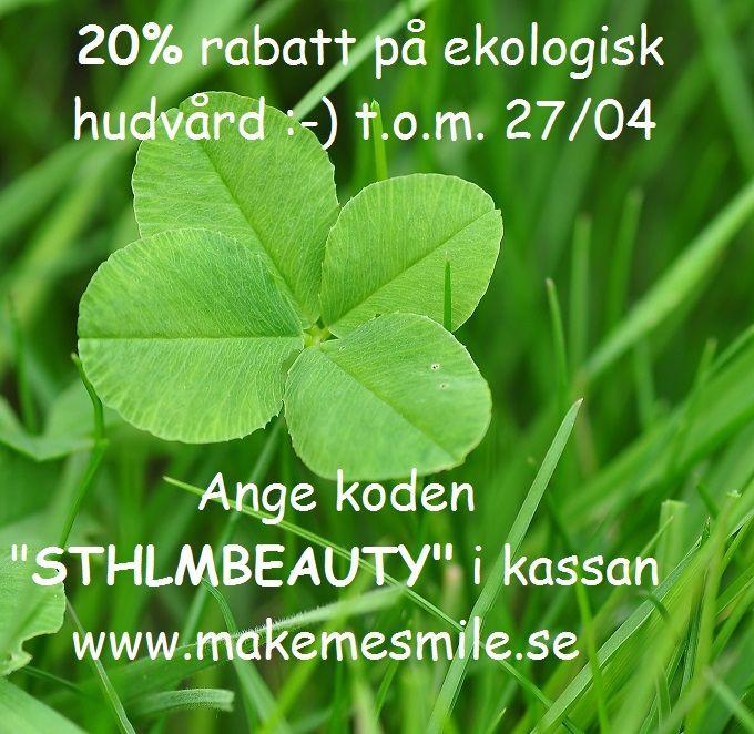 Just nu pågår Stockholm Beauty week och vi vill ge möjlighet att prova naturlig hudvård utan gifter, utan mikroplaster, utan konserveringsmedel... #StockholmBeautyWeek #NaturligSkönhet #EkologiskSkönhet