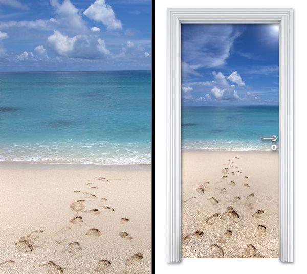 Door sticker BEACH by Sticky!!!