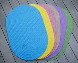 Playful Indoor Outdoor Reversible Accent Rug By Rhody Rug 2 Ft X 3 Ft 2 X 3 Yellow Rhody Rug Oval Braided Rugs Area Rugs