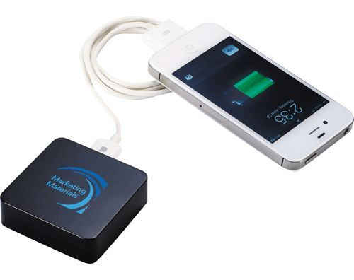 Portable Power Chargers For Smartphones & Tablets - Corporate Gift idea for an exhibition