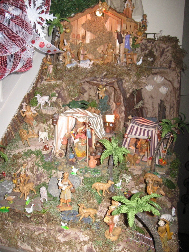 2012 Fontanini Nativity display by @M P .