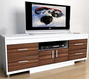 Gold Woody Rak TV 1448 - Coklat Kayu