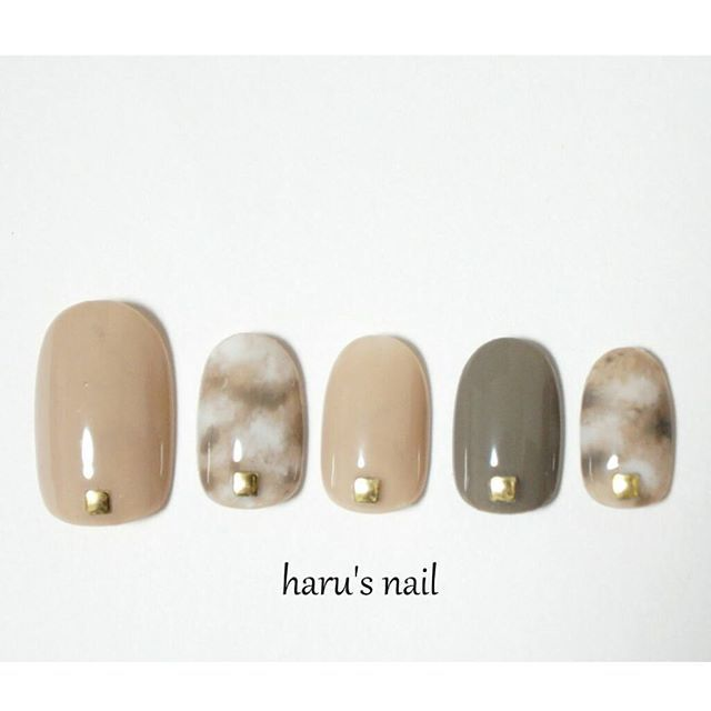 Marble nails set