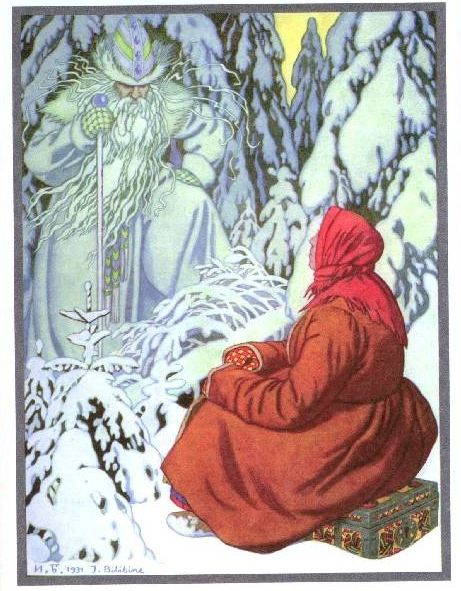 Image Detail for - Ivan Bilibin - Russian tales .Morozko