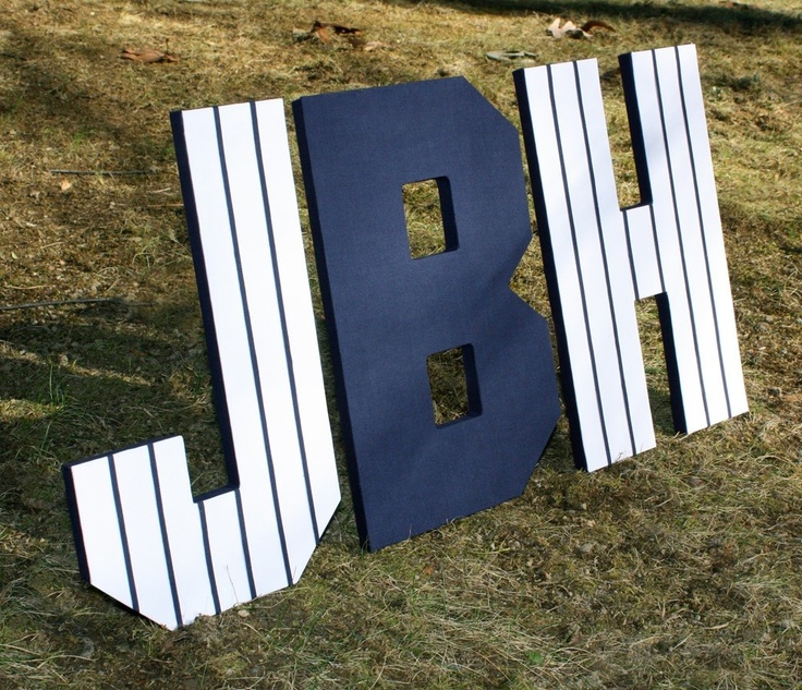 ny yankees inspired custom wall letters