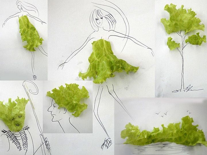 Line Drawings Transform Everyday Objects Into Quirky Scenes - My Modern Metropolis