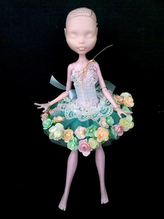 Mh outfit, mh clothes, abito per mostro bambola, Vestiti per bambola Mostro, fata vestito bambola