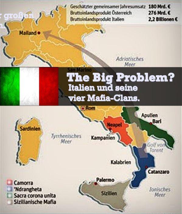 Italien Die Mafia Erfolg Durch Krisen Italien Kalabrien