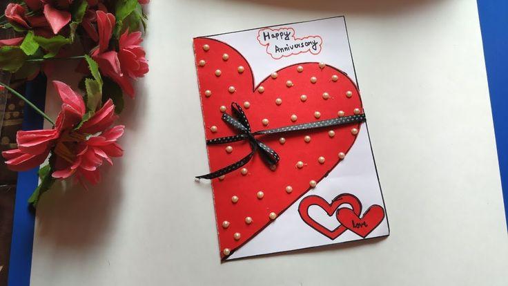 anniversary card handmade anniversary card for parents