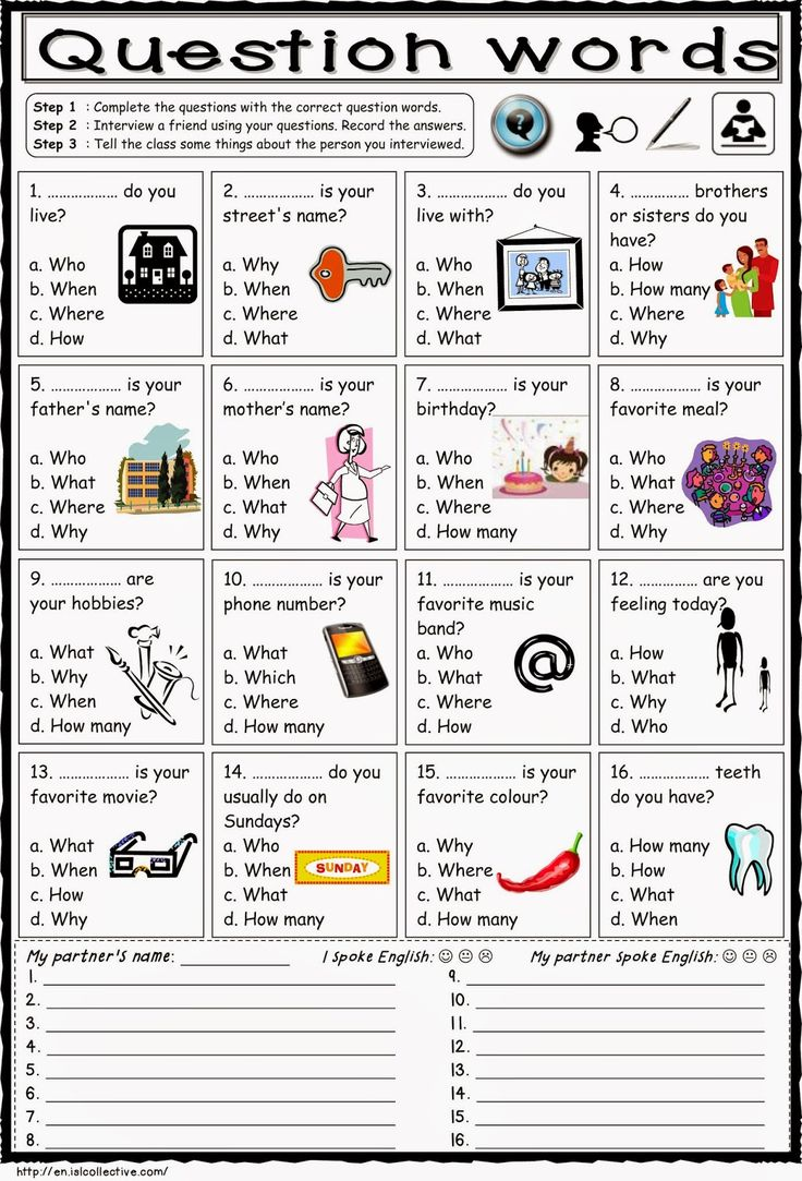 What The Word Worksheet : Question words english pinterest and esl
