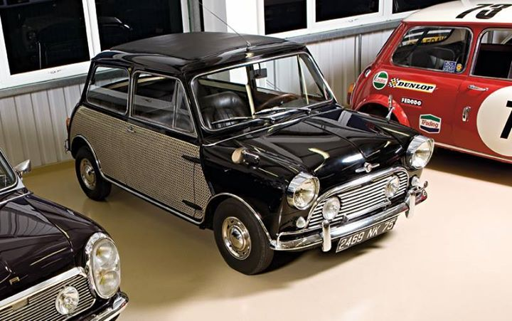 """1963 Peter Sellers Mini Cooper This car found fame with a starring role in the 1964 Pink Panther film """"A Shot In The Dark"""""""