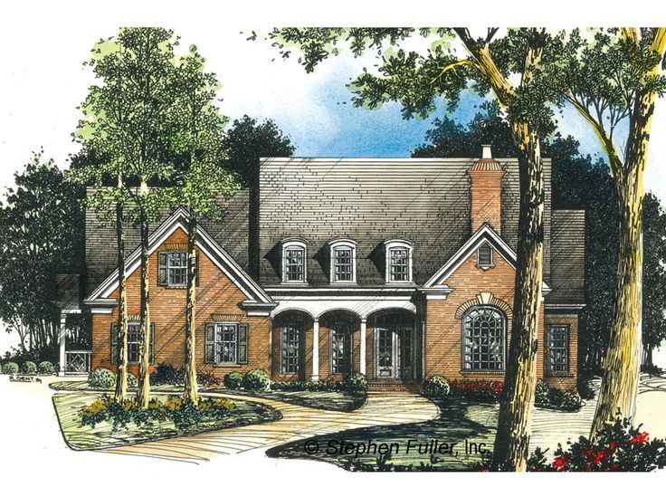 House Plan Kennesaw Country Retreat Stephen Fuller