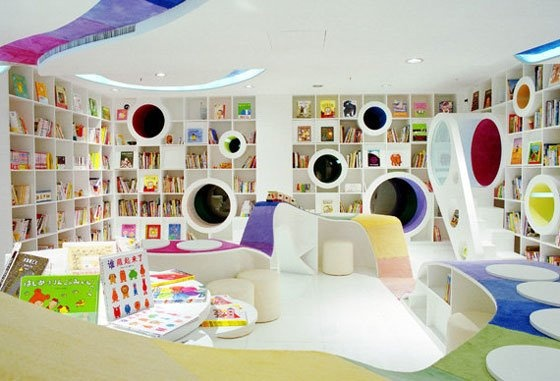 most awesome kid library EVER!