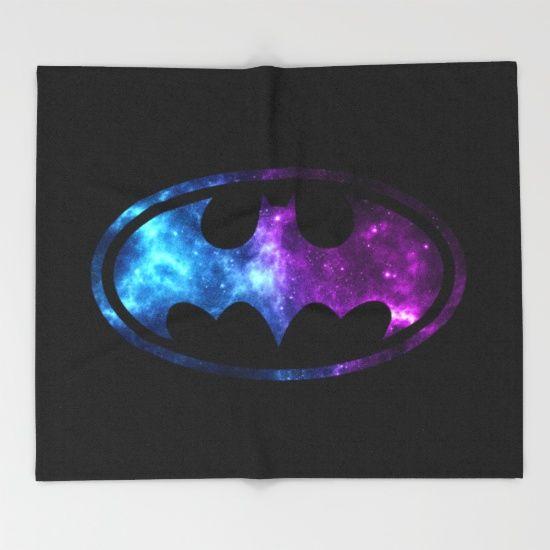 Bat Man  Throw Blanket