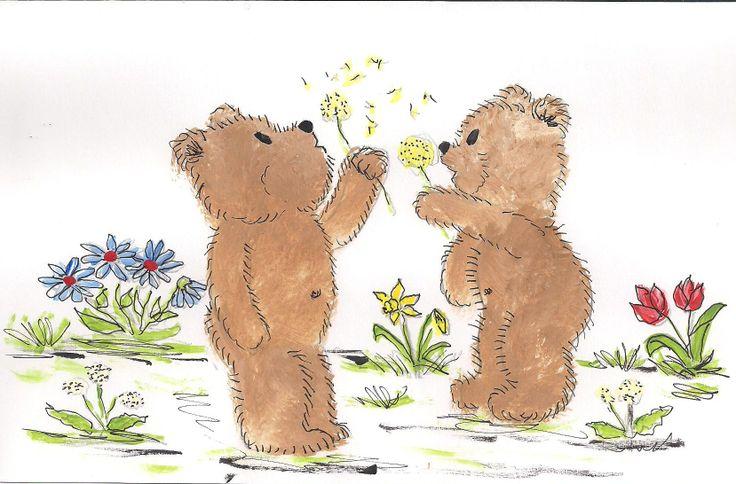 Teddy Bear, Bear, Moose Art