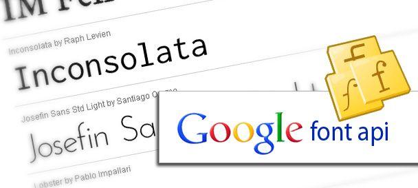 Font Family Website dari Google Fonts