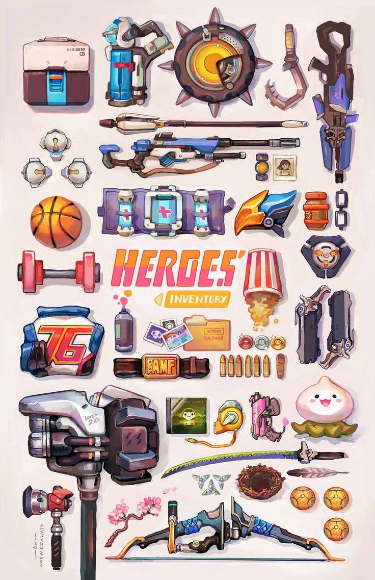 Overwatch - Hero Items