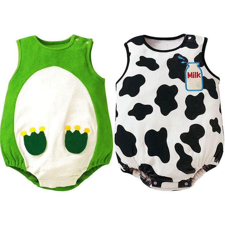Zehui Best Sell Baby Suit Girl Boy Cartoon Pattern Romper Jumpsuit Toddler Apparel