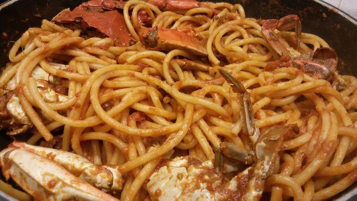 GRANCHIO rosso per una spaghettata in compagnia