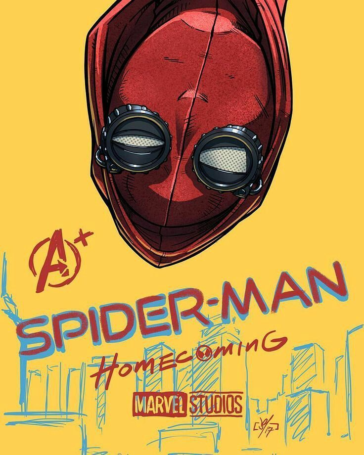 Spider-Man Homecoming fan poster