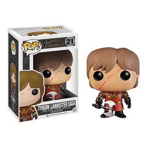 Figura POP Tyrion Con Armadura - Juego De tronos