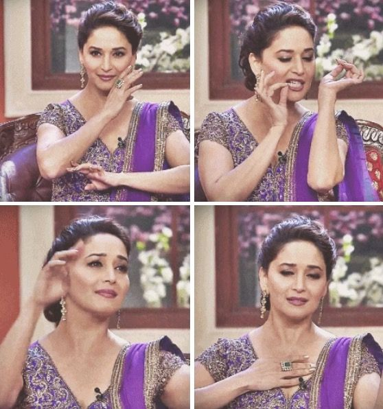 Madhuri Dixit on Comedy Nights With Kapil