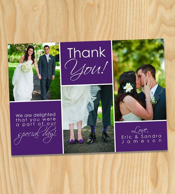 18 best Wedding thank you cards images – Printable Wedding Thank You Cards