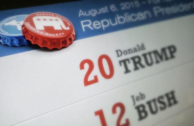 2015-2016 Republican Debate Drinking Games | DebateDrinking.com