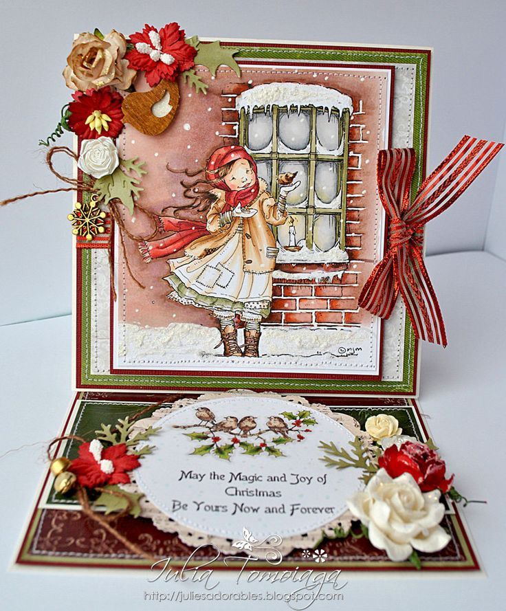Beautiful card!!!                                                                                                                                                     More