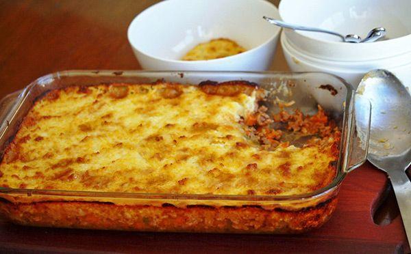 cottage pie - a Julie Goodwin recipe