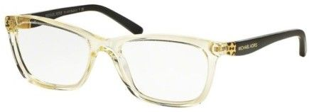 Michael Kors MK4026F-3086 Rectangular Women's Champagne Frame Eyeglasses NWT – Products