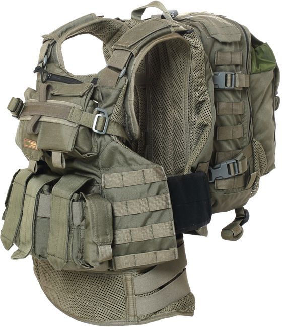 Marom Dolphin Semi modular armor carrier vast (BA8029) offers an easy,comfottable and accurate alignment fittingof armor panels, providing a safer coverage of the user.