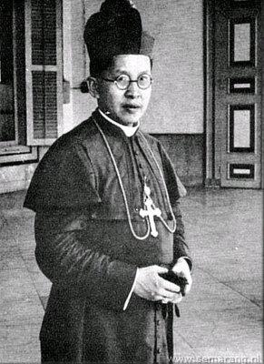 Bishop Soegija, the first Indonesian bishop and a national hero