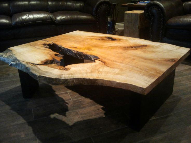 Maple coffee table @Rocawoodworks · Custom TablesWood FurnitureOntarioCoffee  ...