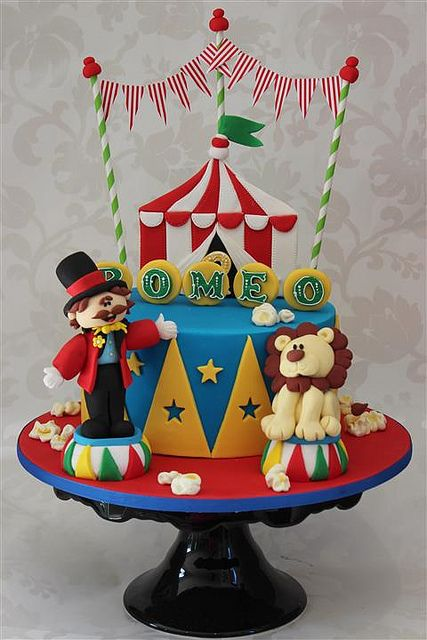 circus theme cake | Flickr - Photo Sharing!