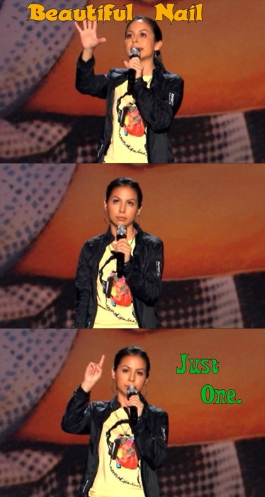 Anjelah Johnson Repin ByPinterest For IPad Beautiful Nail - Comedian absolutely nails celebrity impressions