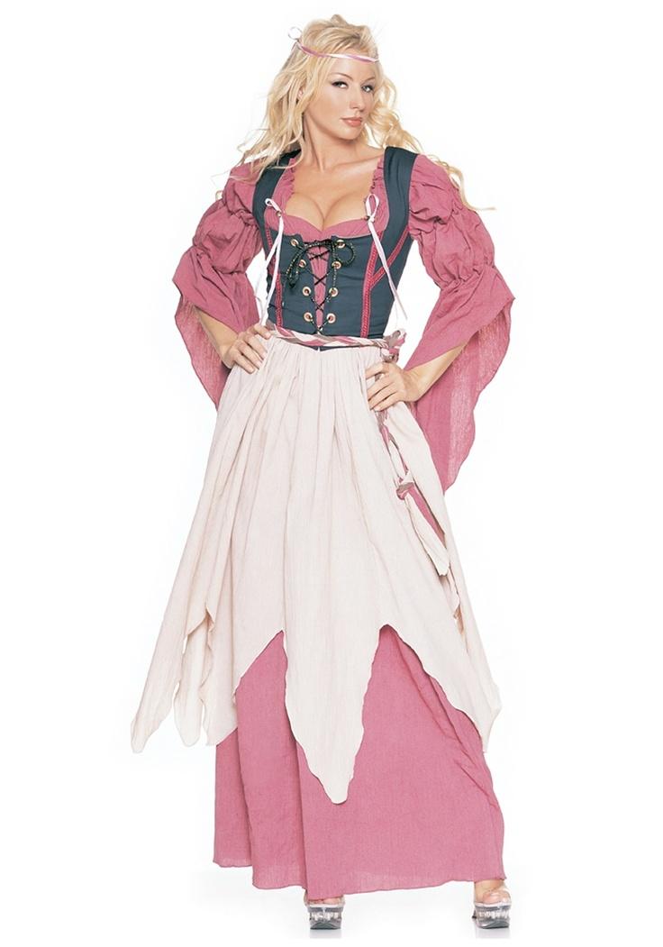 Ladies Renaissance Pirate Costume - Tavern Wench Costumes