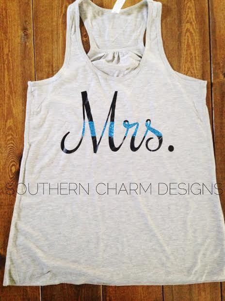 Thin Blue Line MRS Police Wife Tank