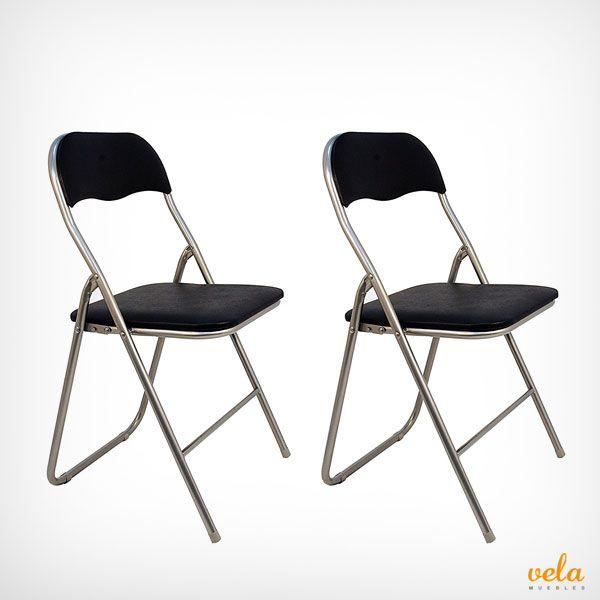 Oferta de 2 sillas de cocina plegables muy prácticas y baratas. Echa un vistazo