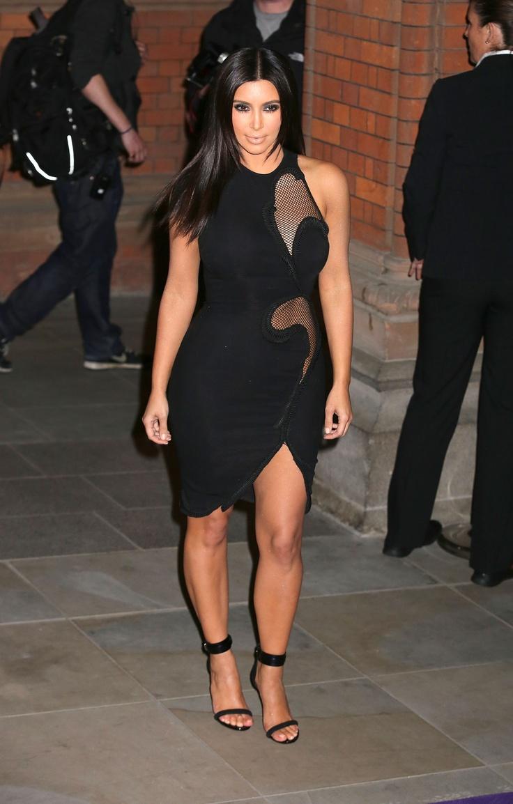 Dress black kim kardashian - Kim Kardashian