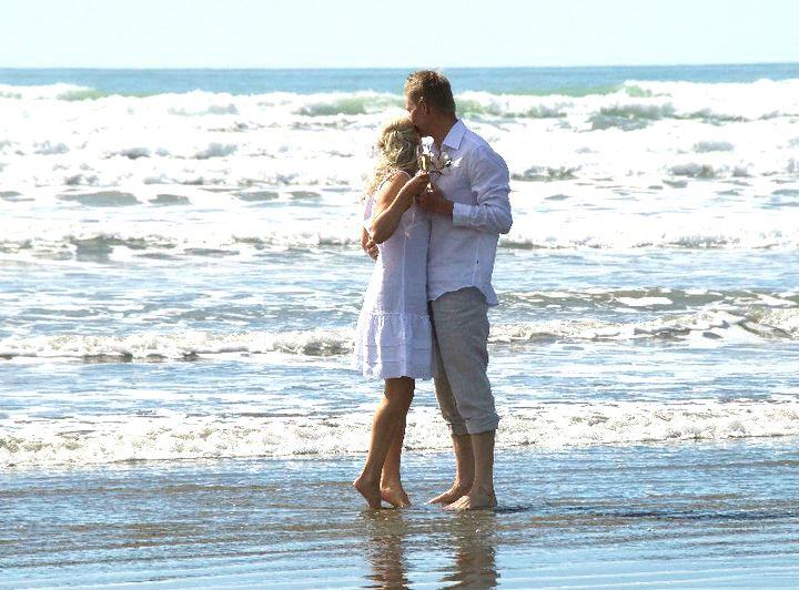 Remote Beach Wedding