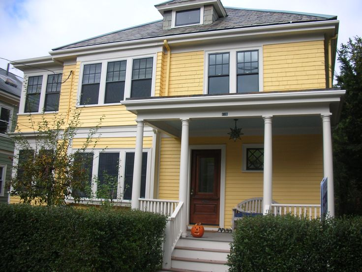 36 best images about yellow houses on pinterest house for Best yellow exterior paint color