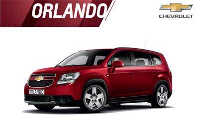 Harga Chevrolet Orlando Bandung dan Jawa Barat. Harga
