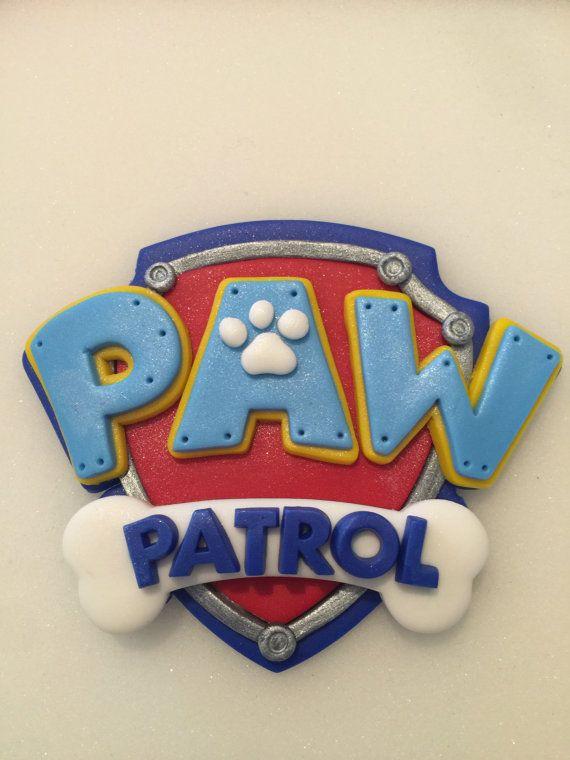 Patte de patrouille grand Logo bouclier par NaomisSweetArt sur Etsy