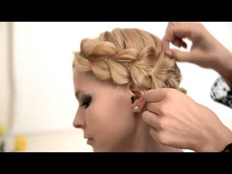 Hairstyle: КОСА С РЕЗИНКАМИ очень просто - YouTube
