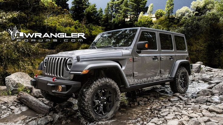 JEEP WRANGLER UNLIMITED 2018 | PREVIEWED IN UNOFFICIAL RENDERS