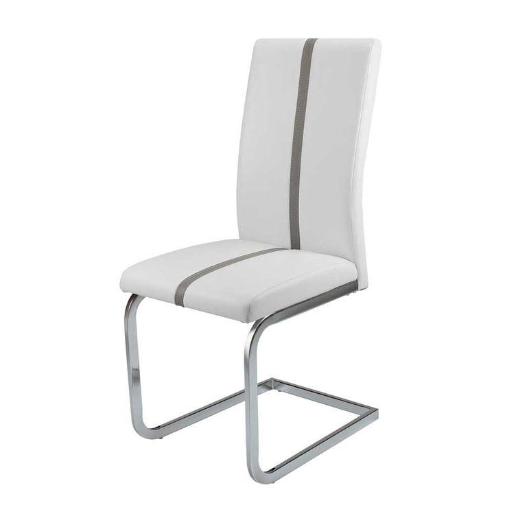 Die besten 25+ Schwingstuhl weiß Ideen auf Pinterest Sitzbezüge - esszimmer set grau weiss