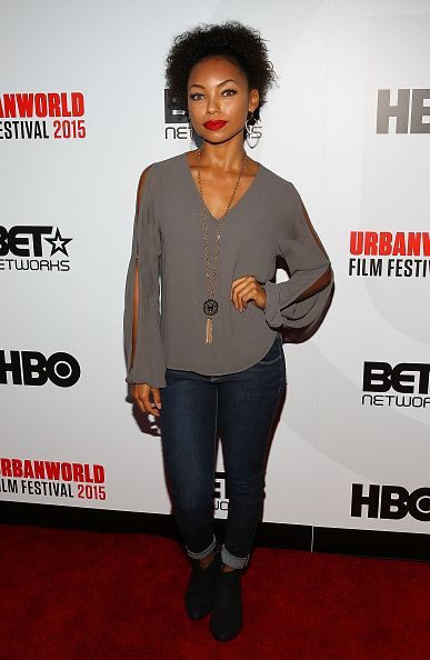 Actress Logan Laurice Browning attends the 2015 Urbanworld Film Festival at AMC Empire 25 theater on September 25 2015 in New York City