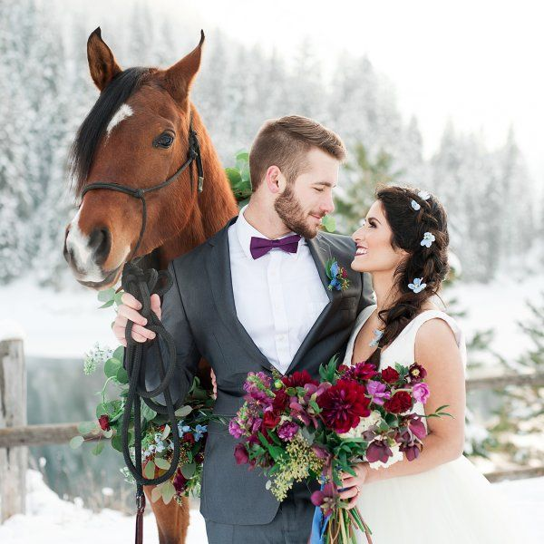Chic inspiration mariage hivernal | Dire Fare Baciare